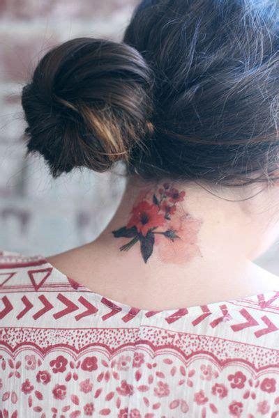 tattoo mata di leher 17 best images about flower tattoos on pinterest tattoo