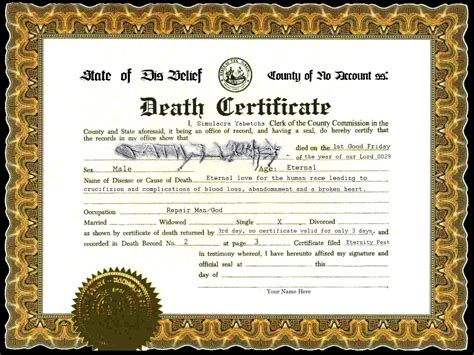 best photos of old blank death certificate blank death