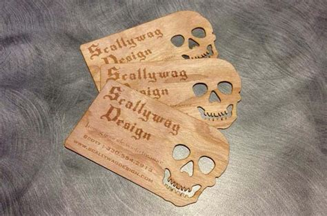 business card template shaped like a paw ten awesome horror business cards popcorn horror
