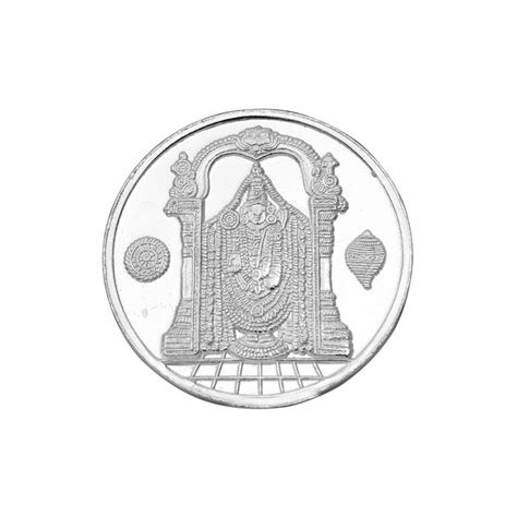 10 Gram Silver Coin Price 999 - balaji 10 gram silver coin in 999 purity fineness by