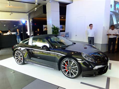 porsche singapore porsche 911 targa launches in singapore