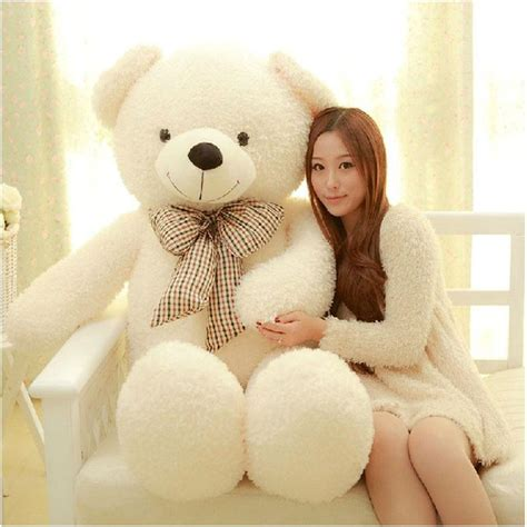 big teddy buyincoins 80cm big plush stuffed teddy