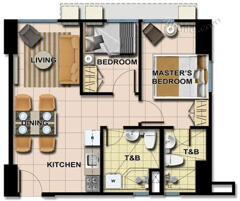2 bedroom unit floor plans condo sale at avida towers centera floor plans finishes