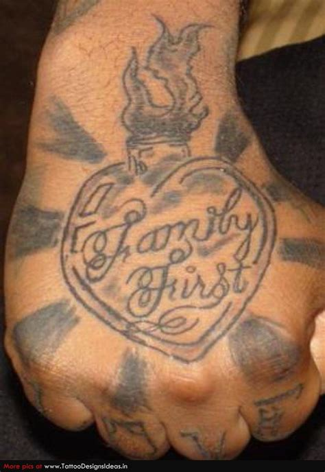 family first lettering tattoo on hands by dr woo best collection of 25 family first heart hand tattoo