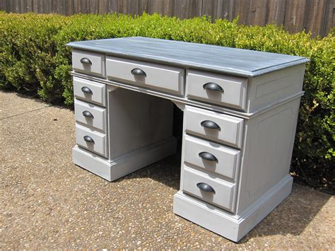 Refinish Desk by 7 Drawer Pedestal Desk Houston Furniture Refinishing