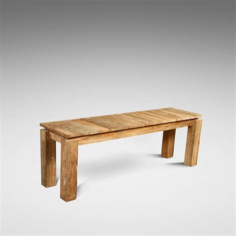 teak wood benches reclaimed teak fortema bench blubambu