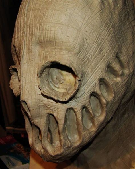 collection   terrifying halloween masks creepy