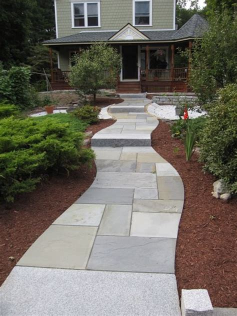 pattern for walkway bluestone patio fits precisely and