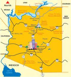 city map arizona arizona map state of arizona maps az destinations