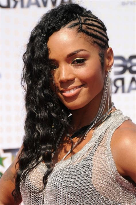 cute and different curly weave hairstyles withe braids in front 126 black hairstyles hairdo ideas tips designs