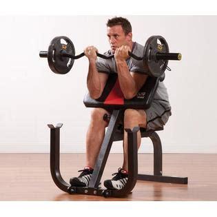 preacher curl no bench pure fitness preacher curl bench 8525pc fitness sports