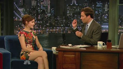 emma watson jimmy fallon emma watson shows dance moves on the jimmy fallon show