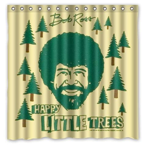 Ross Shower Curtains by Bob Ross Promotion Shop For Promotional Bob Ross On