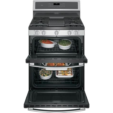 Oven Gas Standing pgb960sejss ge profile series 30 quot free standing gas