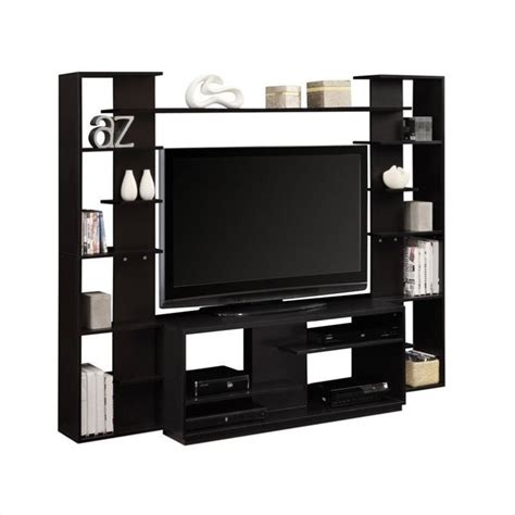 Altra Furniture Entertainment Center in Black and White Finish 1617096