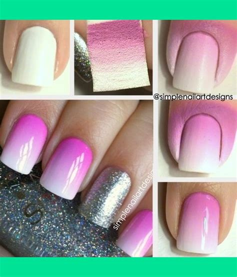 nail art techniques tutorial ombre nail art tutorial simplenailartdesigns s s