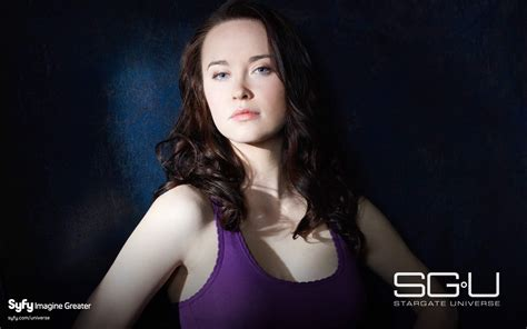elyse levesque  stargate universe wallpapers hd wallpapers id