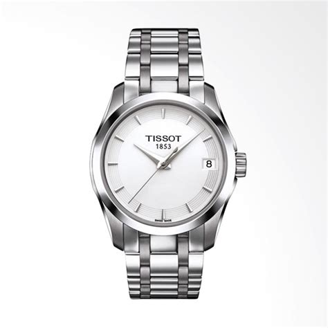 jual tissot t035 210 11 011 00 couturier bahan stainless
