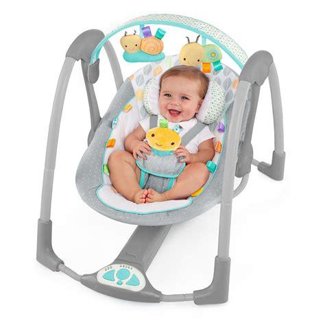 baby in swing taggies swing n go portable swing review babydashco