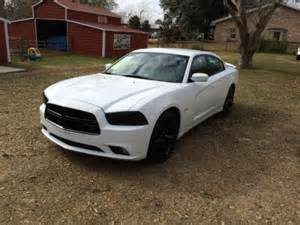 2014 white dodge charger with black rims engine information