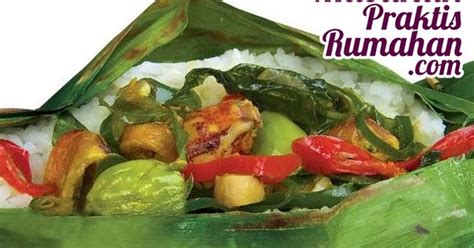 cara membuat nasi bakar isi cumi nasi bakar cumi resep masakan praktis rumahan indonesia