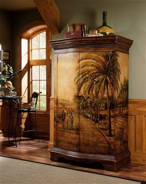 Painted Armoire Furniture by An American Painted Furniture