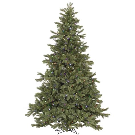 6 foot tree with lights 6 5 foot frasier fir tree multi color led