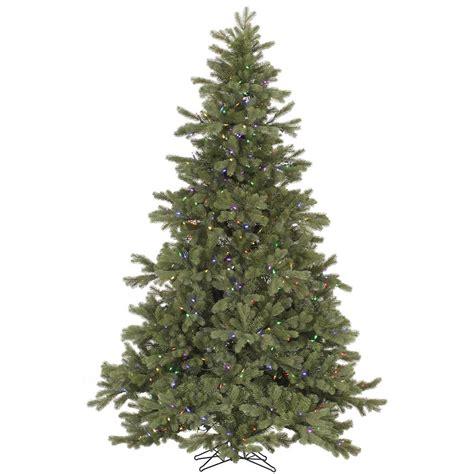 6 5 foot frasier fir christmas tree multi color led