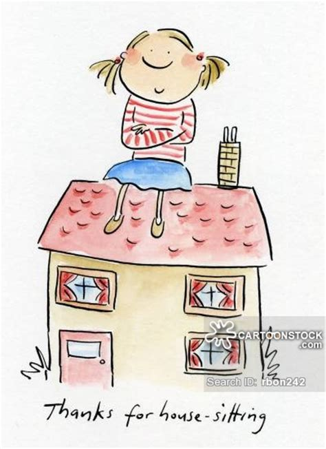 House Siting house sitting cartoons and comics funny pictures from