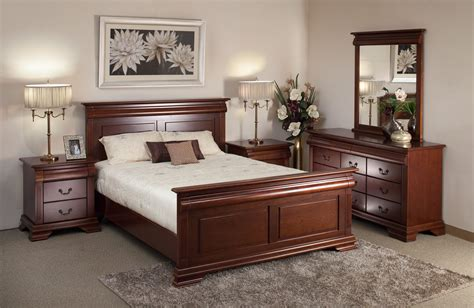 Hardwood Bedroom Furniture | cherry wood bedroom furniture raya furniture