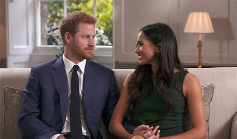 prince harry and meghan markle prince harry and meghan markle appear in first tv