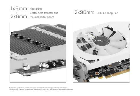 Galax Geforce Vga Gtx 1060 Exoc 6gb galax geforce 174 gtx 1060 exoc white 6gb graphics card