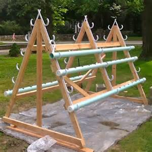 Homemade vertical A frame hydroponic system ? CONTAINER
