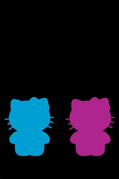 Hello Kitty Silhouette Wallpaper - Free iPhone Wallpapers Iphone 5c Green Wallpaper