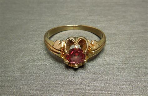 padparadscha sapphire engagement ring victorian buttercup 0 75ct padparadscha sapphire