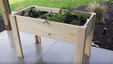 kräutergarten bauen design 5001452 hochbeet tisch balkon bauen kleines
