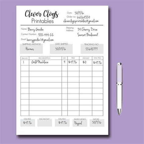 candle order form template order form customizable order form branded by