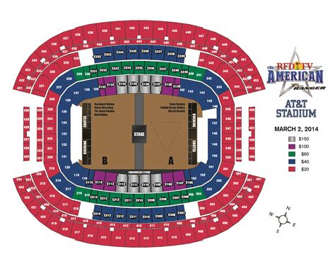 at t stadium seating chart for rodeo pictures to pin on
