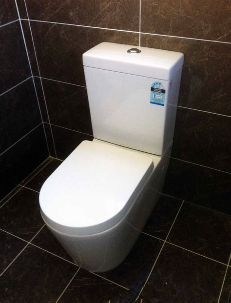 kdk bathroom apollo 02 wall faced s trap toilet suite with soft close