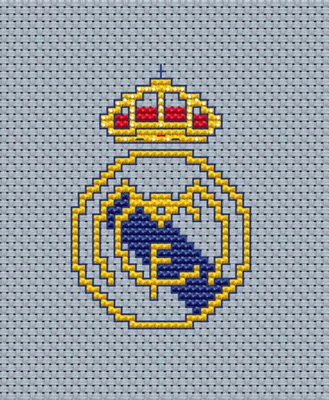 imagen en punto en cruz el escudo de emelec escudo real madrid para punto de cruz imagui