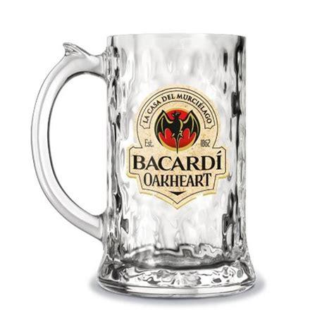 bacardi oakheart logo cocktail gl 228 ser bacardi oakheart glaskrug longdrink