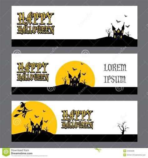 free printable halloween banner templates free halloween banner templates festival collections