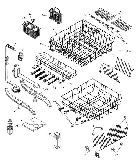 bosch exxcel dishwasher parts diagram image collections