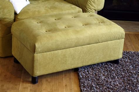 diy upholstered storage ottoman upholstered storage ottoman