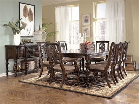 ashley dining room table ashley furniture dining room tables bombadeagua me