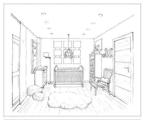 homework one point perspective room drawing 21 best perspective lines images on pinterest