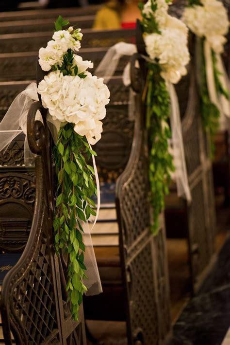 New Orleans Wedding Catholic Wedding Fat Cat Flowers Pew