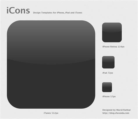 iphone icon template 14 icon template images design template