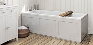how to fit a wooden bath panel victoriaplum