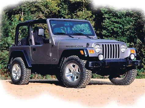 Jeep Wrangler Vs Jeep Rubicon Wrangler Tj Vs Wrangler Jk Jp Magazine